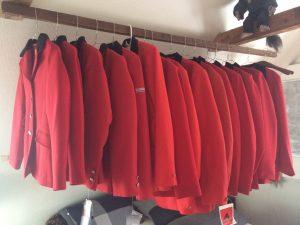 røde jakker